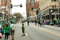 2016 St. Patricks Day Parade in Roanoke Va.